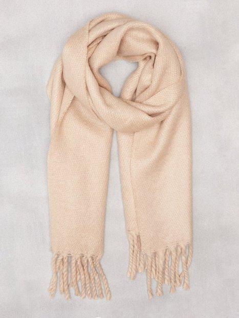 Billede af NLY Accessories Big Brushed Scarf Tørklæder Beige