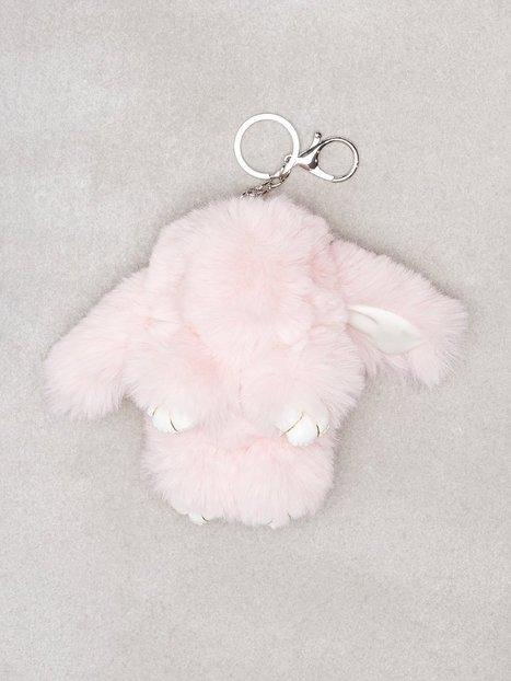 Billede af NLY Accessories Fluffy Bunny Keyring Nøgleringe