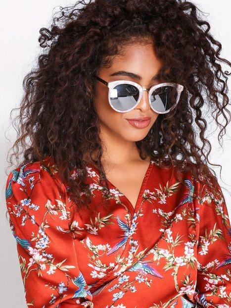 Billede af NLY Accessories Big Marble Sunglasses Solbriller Rosa/Lyserød