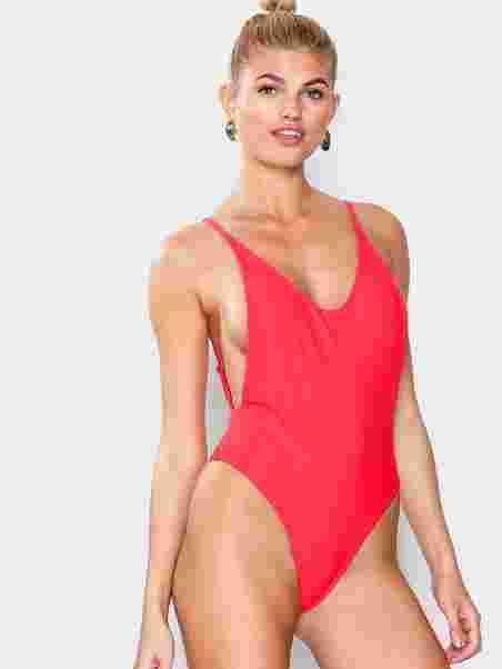 bd4687a605480 Poppie Swimsuit - Elsa   Rose - Red - Swimsuits - Swimwear - Women ...