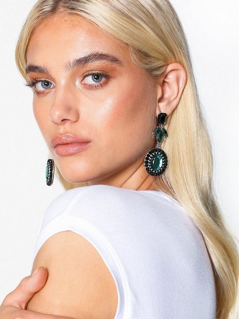 NLY Accessories Crystal Stone Drop Earring Örhängen