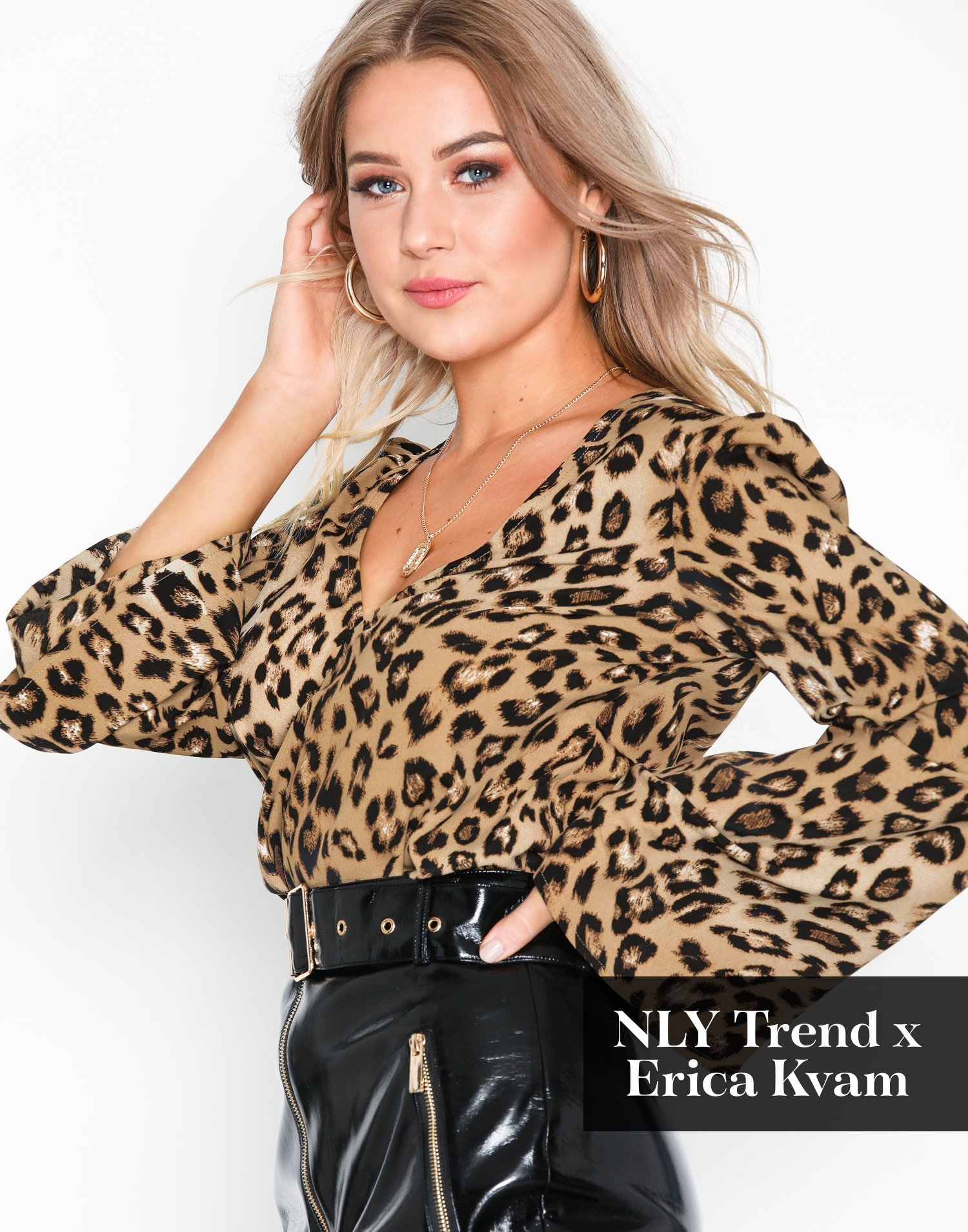 Nly Kvinde Leo Tøj Bluseramp; Skjorter Trend Blouse bWDHE2Ye9I