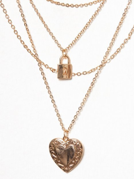 Heart Lock Necklace