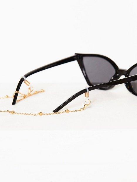 Billede af NLY Accessories Exclusive Sunglasses Chain Solbriller Guld