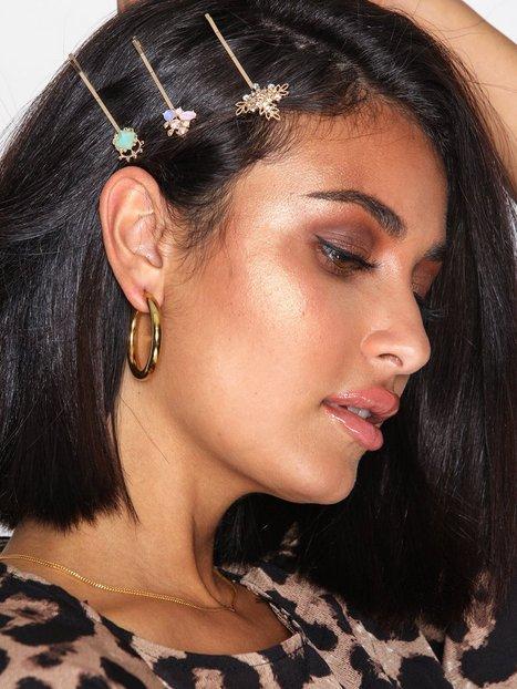 Billede af NLY Accessories 5 pack Luxe Hair Pins Hårtilbehør Flerfarvede