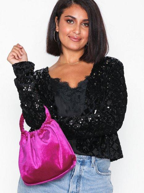 NLY Accessories Velvet Pouch Bag Handväskor