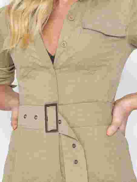 a4b7b09d569 Boiler Jumpsuit - Nly Trend - Beige - Jumpsuits - Clothing - Women ...