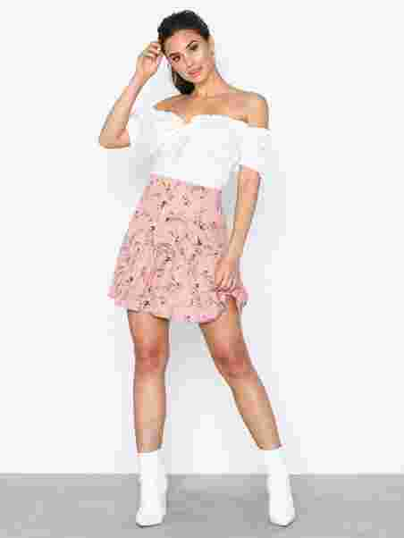 Valkoinen My Blouse Trend Nly Flirty Paitapuserot 6b7ygIYfv