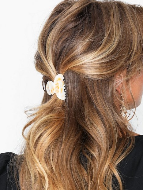 Billede af NLY Accessories 3-pack Marble Mix Hair Clips Håraccessories