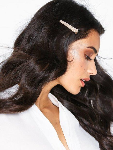 Billede af NLY Accessories 2-pack Couture Bling Hair Clips Hårtilbehør Guld