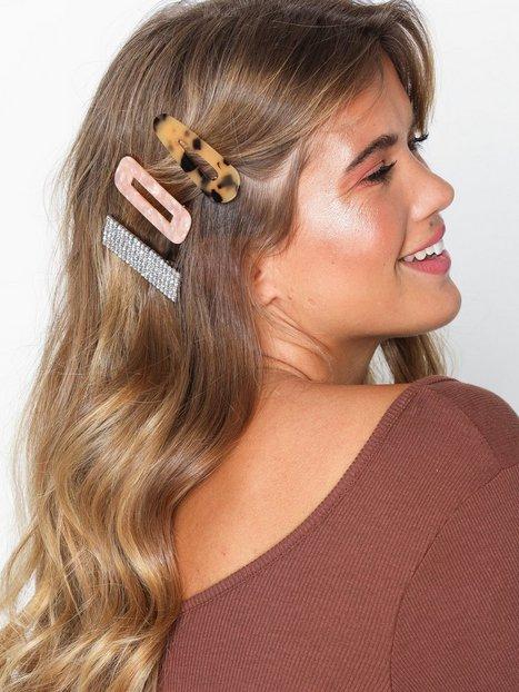 Billede af NLY Accessories 3 pack Hair Clips Hårtilbehør