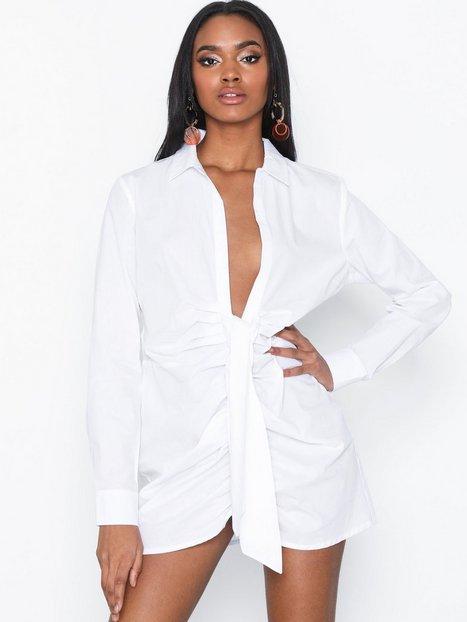 Billede af NLY Trend Draped Shirt Skjorter Hvid