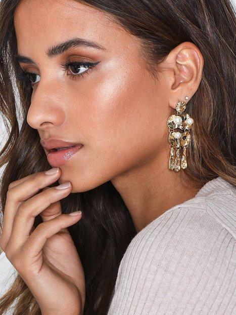 Billede af NLY Accessories Artsy Pearl Earrings Ørering
