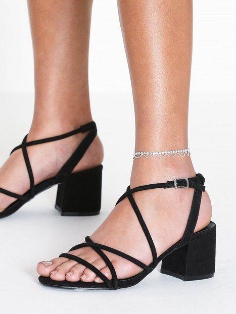 Billede af NLY Accessories Crystal Chain Anklet Øvrige smykker