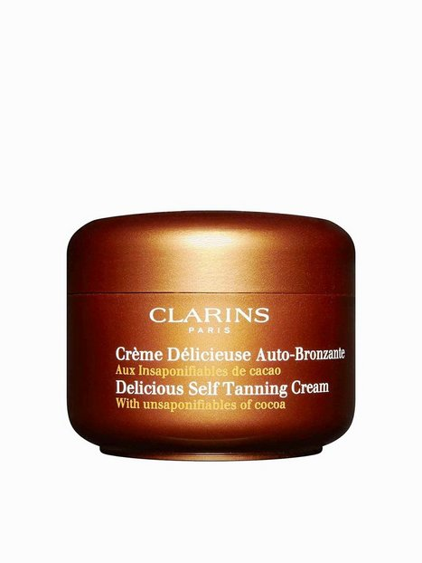 Billede af Clarins Delicious Self-Tanning Cream 125 ml Self Tan Golden Glow