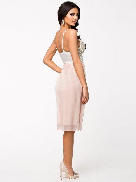 Jewel Bustier Chiffon Skater Dress - Te Amo - Black - Party Dresses - Clothing - Women - Nelly