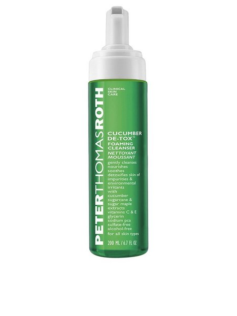 Billede af Peter Thomas Roth Cucumber Detox Foaming Cleanser 200ml Ansigtsrens Transparent