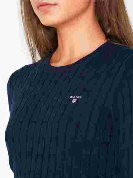 fa580563073 Shoppa Stretch Cotton Cable Crew - Online Hos Nelly.com