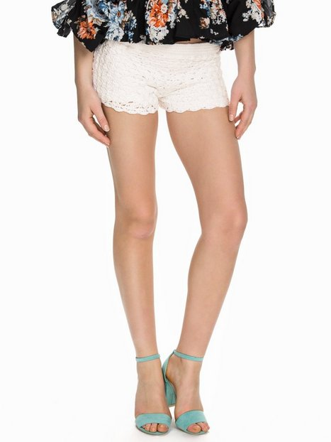 Miss Selfridge Crochet Shorts Shorts White thumbnail