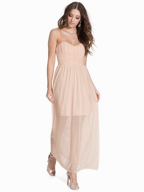 Billede af Miss Selfridge Bandeau Maxi Dress Maxikjole Light Pink