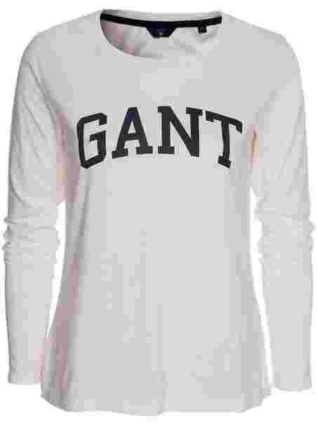 Shoppa Gant Logo T - Shirt Ls - Online Hos Nelly.com ac4eddad9024e
