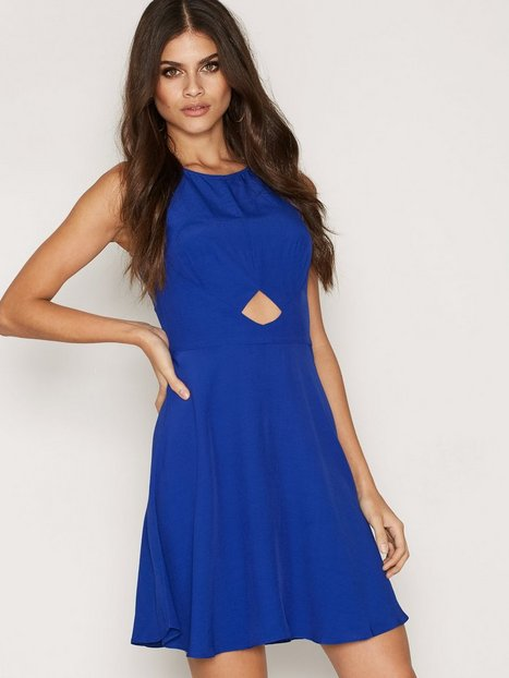 Billede af Miss Selfridge Blue Skater Dress Skaterkjole Blue