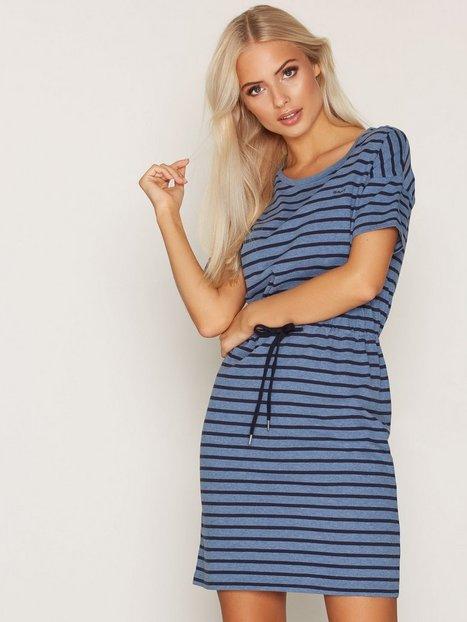 Billede af GANT Dropped Shoulder Dress Loose fit dresses Blue