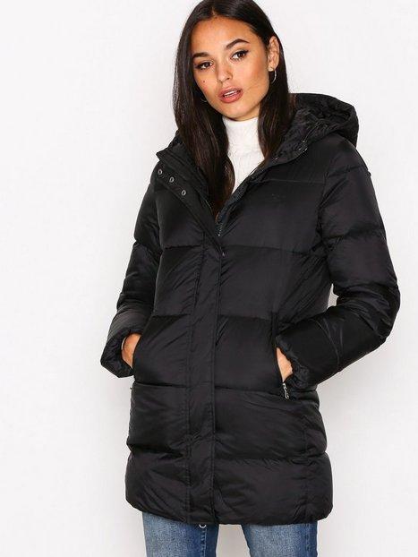 Classic Long Down Jacket - Gant - Black - Jackets - Clothing ...