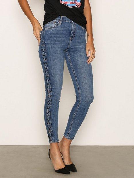 MOTO Side Lace Jamie Jeans