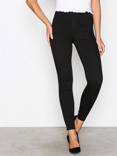 Billede af Topshop Black Joni Jeans Skinny Black