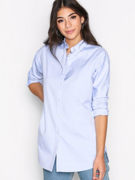 Billede af GANT OP2. Pinpoint Oxford Tunic Shirt Skjorte Blue