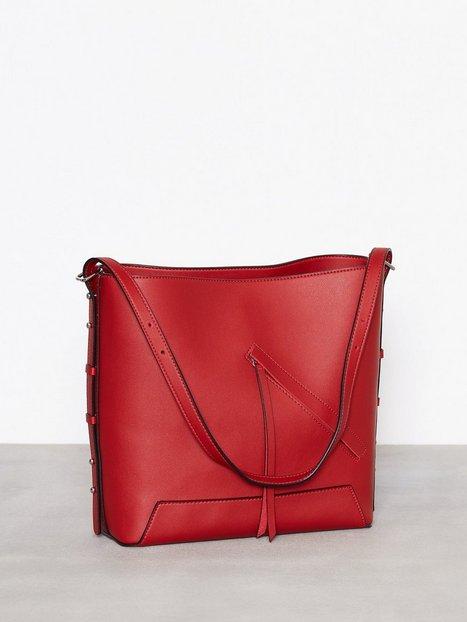 Billede af Topshop Asymmetric Hobo Bag Håndtaske Red
