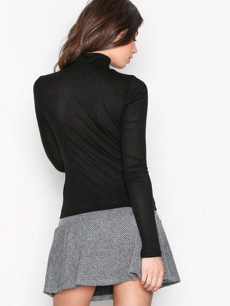 Peplum Hem Mini Skirt