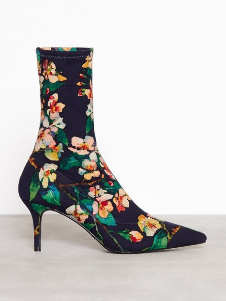 Mojito Floral Sock Boots