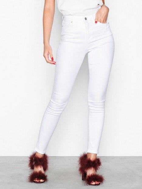 Topshop White Jamie Jeans Slim White thumbnail