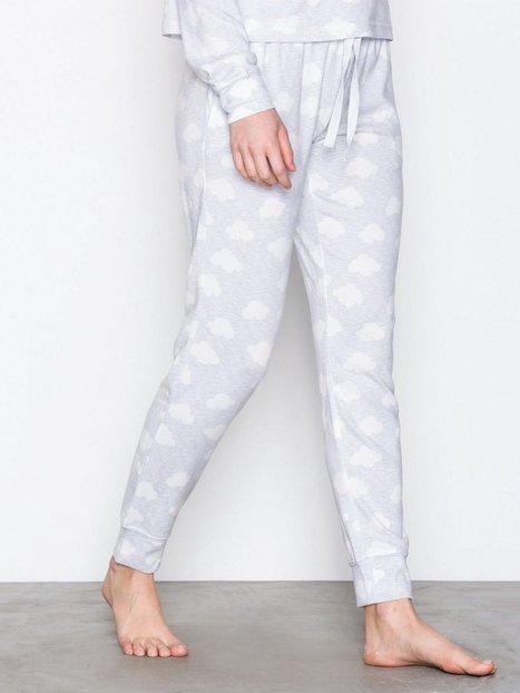 Topshop Cloud Print Sweat Pant Pyjamat & Oloasut Blue thumbnail