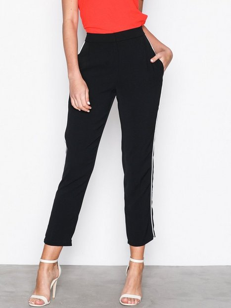 Topshop Side Pipe Jogger Housut Black thumbnail