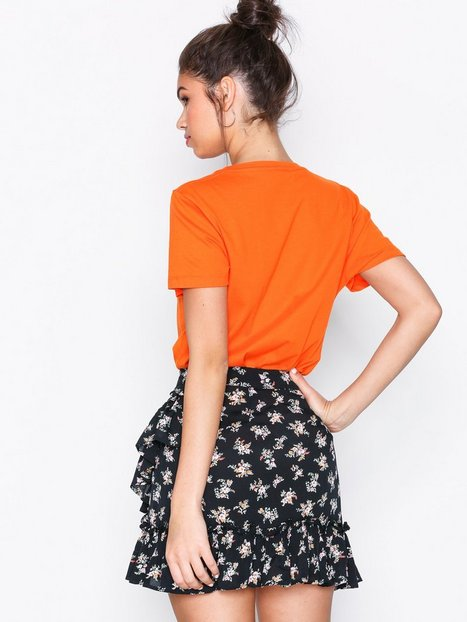 Ditsy Bouquet Frill Mini Skirt