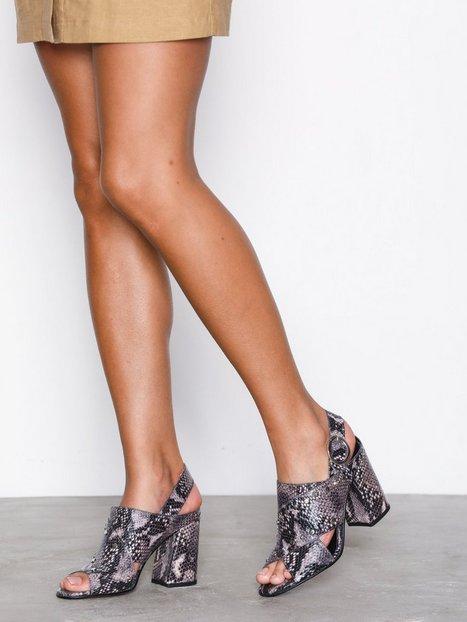 Billede af Topshop Stud Strap Sandal Heels Multi