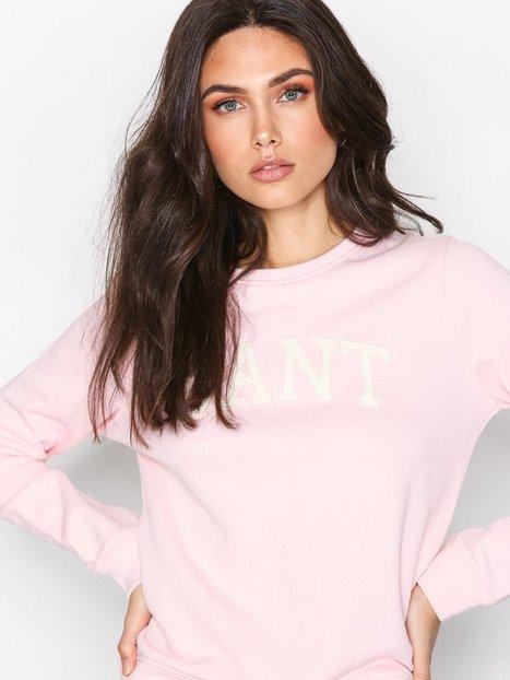 Billede af Gant O1. Arch Logo Sweat Sweatshirts Rose