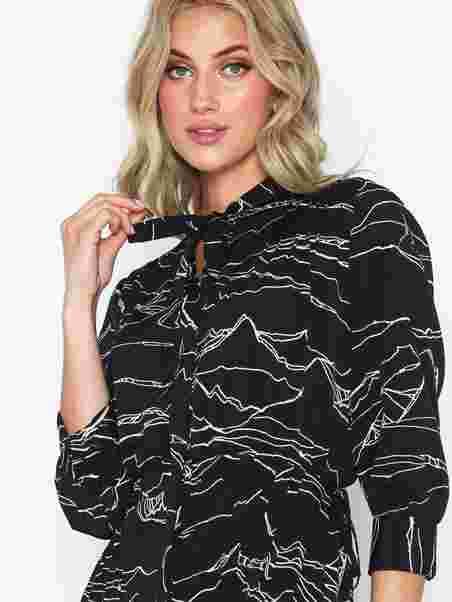 e924f9a819 Horse Print Midi Dress - Topshop - Black - Mekot - Vaatteet - Nainen ...