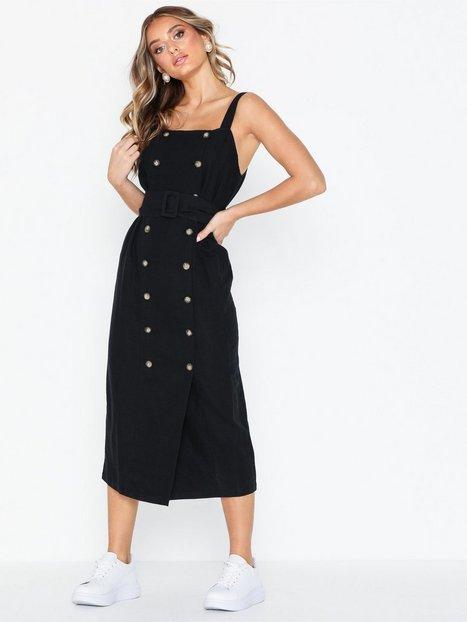 Billede af Topshop Belted Pinafore Dress Loose fit dresses