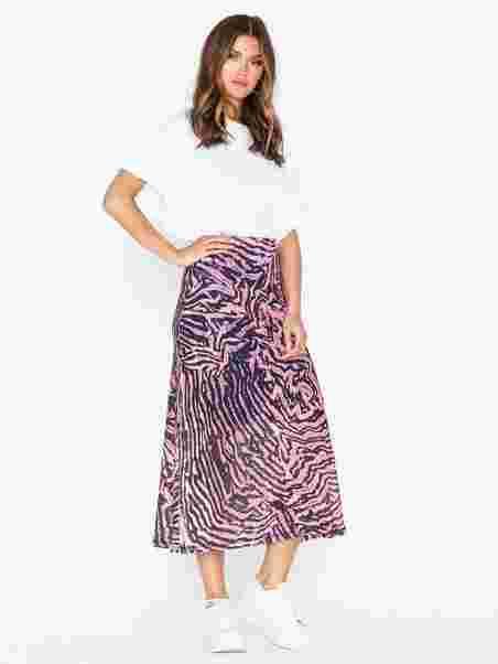 men/man top fashion full range of specifications Pink Zebra Mesh Midi Skirt, Topshop