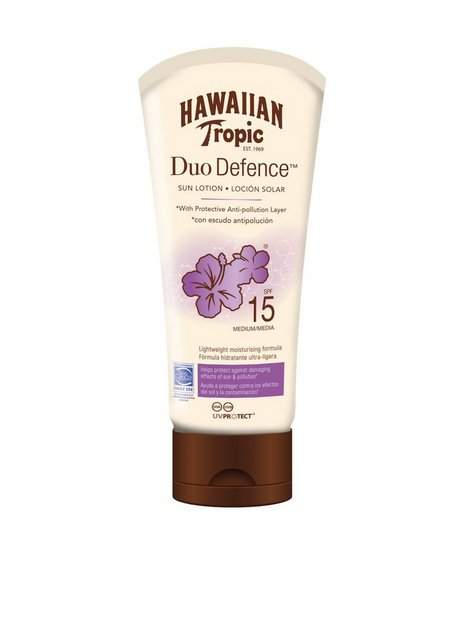 Billede af Hawaiian Tropic DuoDefence Sun Lotion SPF 15 180 ml Solcremer