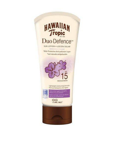 Billede af Hawaiian Tropic DuoDefence Sun Lotion SPF 15 180 ml Solfaktor Hvid