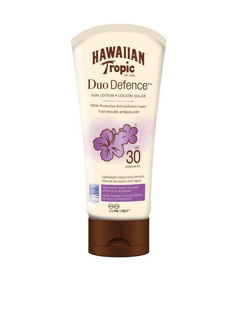 Billede af Hawaiian Tropic DuoDefence Sun Lotion SPF 30 180 ml Solcremer