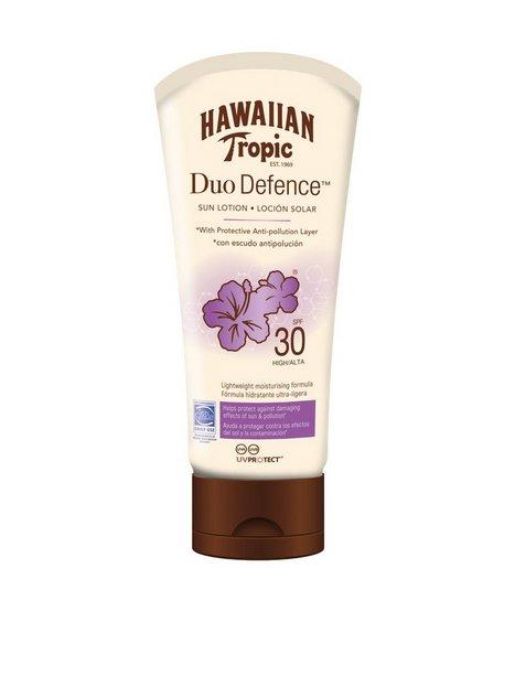 Billede af Hawaiian Tropic DuoDefence Sun Lotion SPF 30 180 ml Solfaktor Hvid