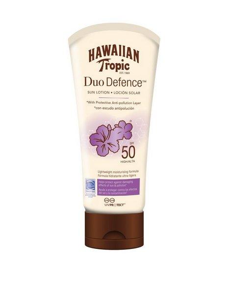 Billede af Hawaiian Tropic DueDefence Sun Lotion SPF 50 180 ml Solfaktor Hvid