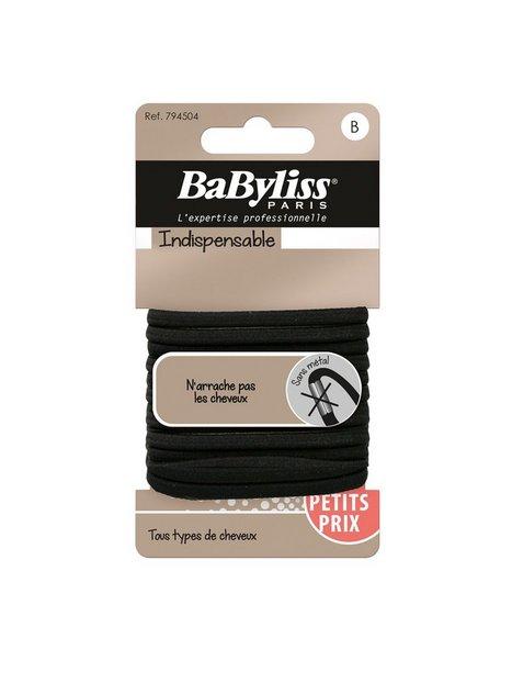 Billede af BaByliss Paris Hårsnoddar 12-pack Hårbånd & Hårnål Black