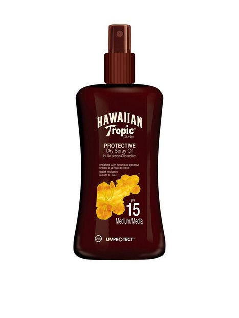 Billede af Hawaiian Tropic Protective Dry Spray Oil SPF 15 200 ml Solcremer